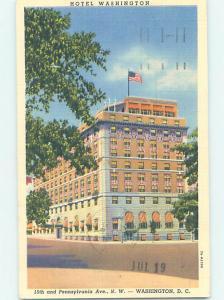 Linen HOTEL SCENE Washington DC AE1420