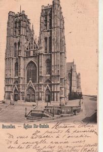 Belgium Brussels eglise Ste-Gudule