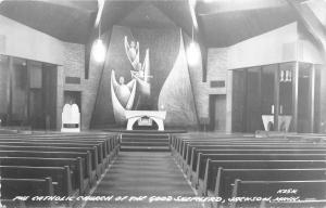 Jackson MN~The Catholic Church Of The Good Shepherd~Mod Interior 1950
