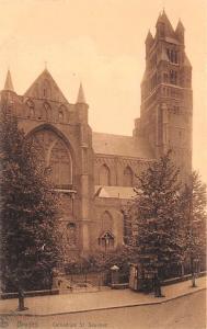 Bruges Belgium, Belgique, Belgie, Belgien Cathedrale St Sauveur Bruges Cathed...