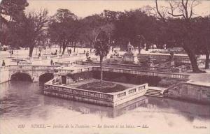 France Nimes Le Jardin de la Fontaine