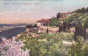 Italy Fiesole Villa Medici e Convento di San Girolamo 1932