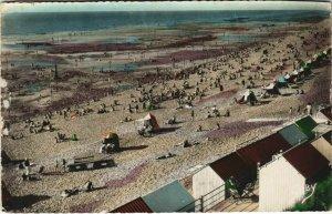 CPA AULT ONIVAL la plage (807494)