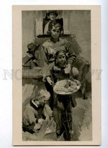 189932 Portrait of Family by Franz WIEGELE Vintage postcard