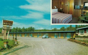 BLIND RIVER , Ontario, Canada, 1950-70s ; North Shore Motel & Restaurant