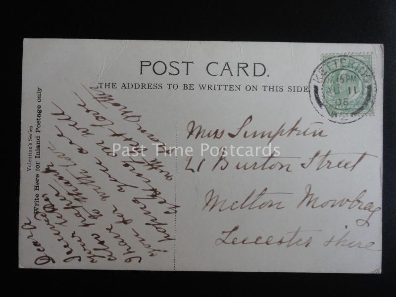 Northamptonsshire KETTERING RUSHTON HALL c1906 Old Postcard by Valentine