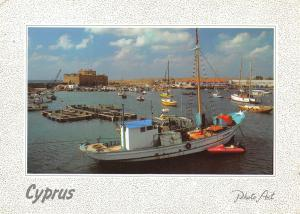 Cyprus Harbour Port Castle Schloss Chateau Photo Art
