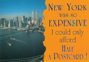 NEW YORK CITY, 1980s; WTC Buildings, New York So Expensive only I could only aff