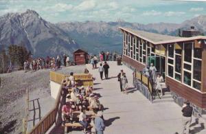 The Tea House in the clouds,  Banff Sulphur Mountain Gondola,  Banff,  Albert...