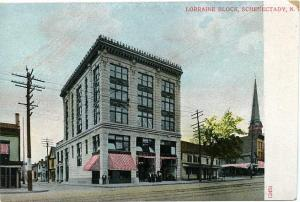 The Lorraine Block Schenectady NY, New York DB