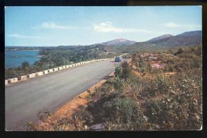Mt Desert Island, Maine/ME Postcard, Scenic Drive To Summit