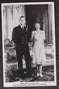 Princess Elizabeth and Duke of Edinburgh Shortly after marriage
