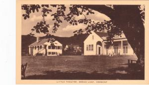 Little Theatre, BREAD LOAF , Vermont 1930s