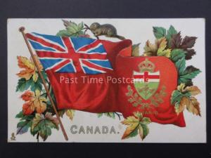 Canada: ONTARIO Embossed Coats of Arms Series c1908 by Raphael Tuck & Son 2911