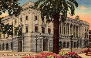 Louisiana New Orleans Post Office Curteich
