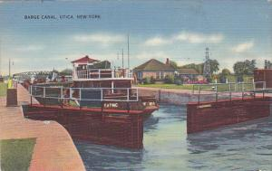 Barge Canal Utica New York