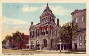 MEMORIAL BUILDING, MANSFIELD, OH 192?