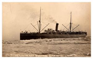 S.T.R. Victoria in the Nome  Roadstead Ice Sea , RPC