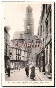 Vire - La Porte XIII century - Old Postcard