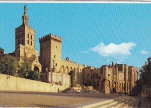 France Avignon La Cathedrale et le Palais des Papes