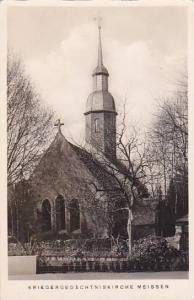 RP, Kirche Zu St. Nicolai, Kriegerged Achtniskirche Meissen, Saxony, Germany,...