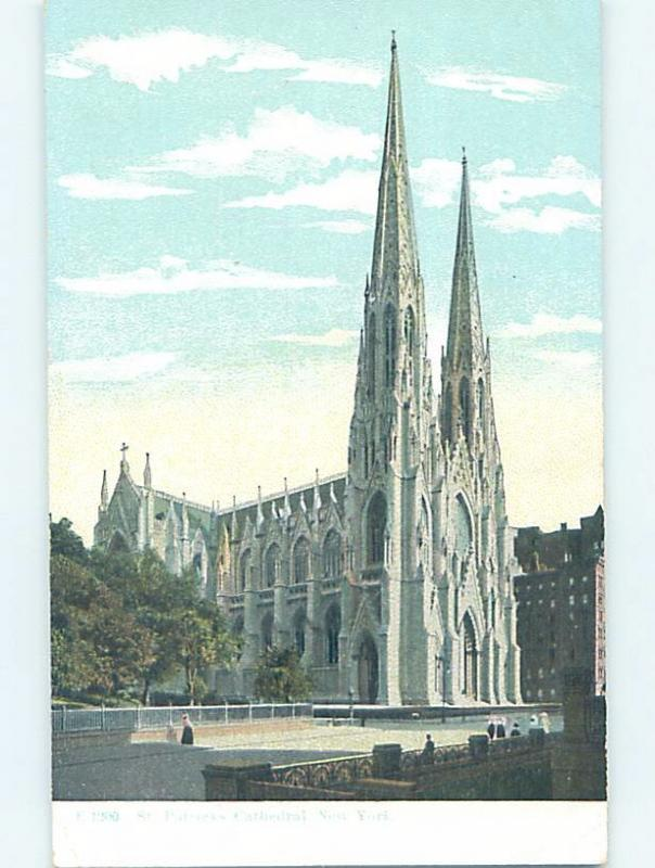 Unused Divided-Back ST. PATRICK'S CATHEDRAL New York City NY HM6264