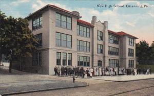 New High School, KITTANNING, Pennsylvania, PU-1914
