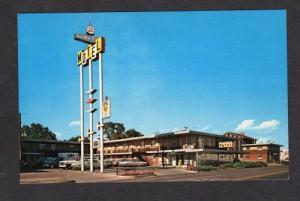 CO Down Town Motel PUEBLO COLORADO POSTCARD Postcard