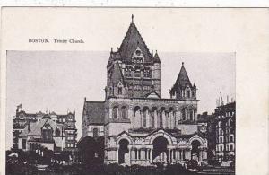 Massachusetts Boston Trinity Church