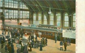 Charlestown Massachusetts Sullivan Square Metropolitan C-1910 Postcard 21-10148