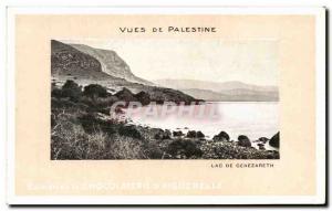 Old Postcard Views Of Lake Palestine From Genezareth