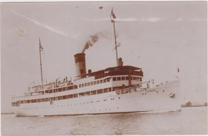 RP, Oceanliner/Steamer, Rugard, 1929