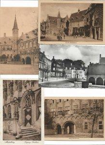 Netherlands Middelburg Postcard Lot of 10 Postcard lot of 10 01.12