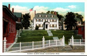 Massachusetts Gloucester Murray Gilman House Curteich
