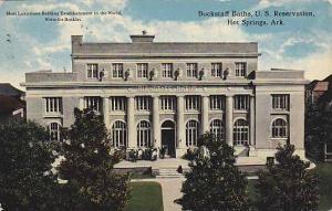 Buckstaff baths, U.S. Reservation, Hot Springs, Arkansas, PU-00-10s