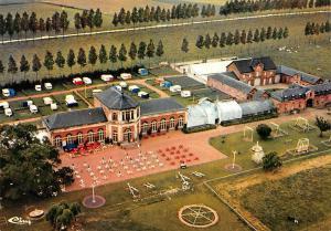 Belgium Beloeil Chateau de Beloeil Plaine de Jeaux et Camping Orangerie Airview