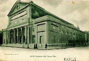 MA - Boston. Symphony Hall