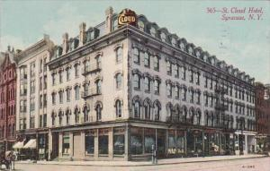 Saint Cloud Hotel Syracuse New York 1913