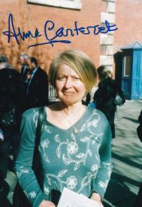 Anna Carteret Juliet Bravo The Saint Large Hand Signed Photo