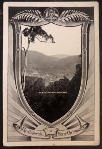Mint Australia Picture Xmas Postcard PPC An Australian Landscape