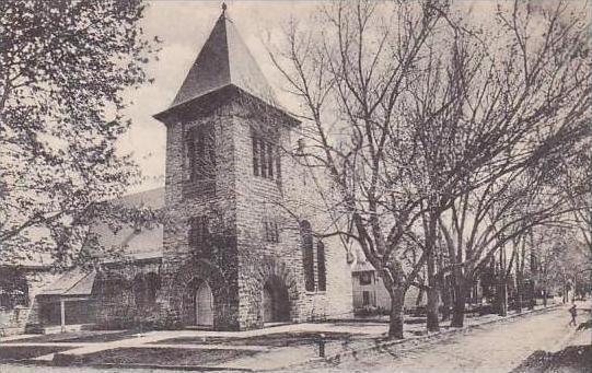 Virginia Leeburg St James Episcopal Church And Cornwall Street East Albertype