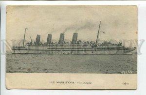 439551 CUNARD Line ship liner Mauritania Vintage postcard