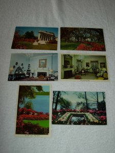 Mobile AL - Lot Of 6 Great Vintage Postcards - x0511