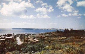 Looking toward Orote Point Guam Unused
