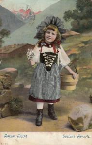 BERNE, Switzerland, PU-1908; Berner Tracht, Costume Bernois