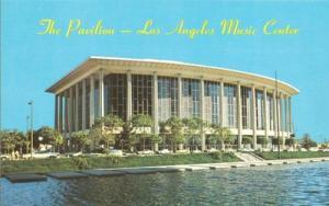 The Pavilion, Los Angeles Music Center unused Postcard