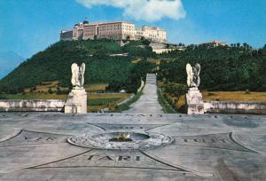 MONTECASSINO, Abbey and Polish Cemetery, Southeast of Rome, Italy, 50-70s
