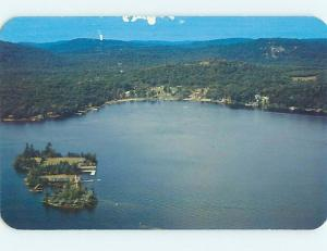 Pre-1980 AERIAL VIEW Eagle Bay New York NY hs8249