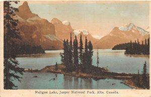 br106320 mailgne lake jasper national park alta canada