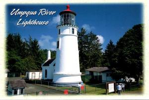 Oregon Winchester Bay Umpqua River Lighthouse